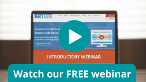 Access our FREE webinar about the Responsible Recruitment Toolkit